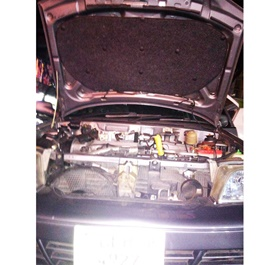 Suzuki Mehran Bonnet Cover Protector Lid Garnish Namda - Model 2012-2019-SehgalMotors.Pk