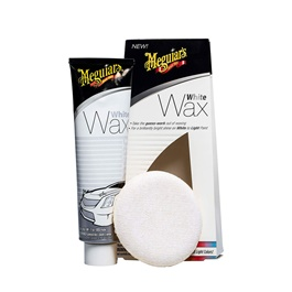 Meguiars White Wax Tube with Applicator Pad - 7OZ | White Car Wax |  | Paint Care Waterproof Coating Soft Wax | Car Crystal Hard Wax | Anti Fade Ultraviolet Proof Polishing | Polish For Car Body | Easy Operation For Caring And Maintenance Clean | Car Polishing Body Solid Waterproof Wax | Car Polish | Car Care Product | Coating Car Wax | Coating Paste-SehgalMotors.Pk