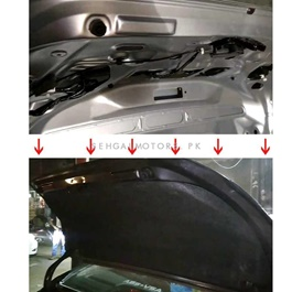 Honda Civic Reborn Protector Lid Trunk Garnish Namda - Model 2006-2012-SehgalMotors.Pk