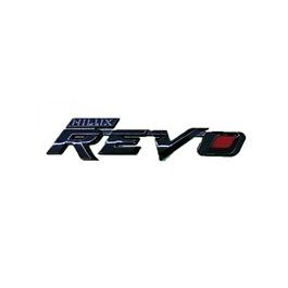 Hilux Revo Metal Monogram - Black    Emblem   Decal   Monogram   Logo-SehgalMotors.Pk