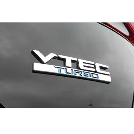 V-TEC Turbo Metal Monogram   Emblem   Decal   Monogram   Logo-SehgalMotors.Pk