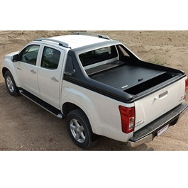 Isuzu D-Max / DMax / D Max Back Shutter Lid With Roll Bar CarryBoy Thailand - Model 2018-2020-SehgalMotors.Pk