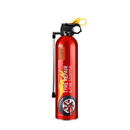 XCare Tyre Repair & Fire Stopper 950 ML  | X-care | Portable Size Lightweight Household Car Use Fire Extinguisher | Compact Fire Extinguisher for Laboratories, Hotels, Cars | Fire Extinguisher Safety Flame Fighter Home Office Car-SehgalMotors.PK