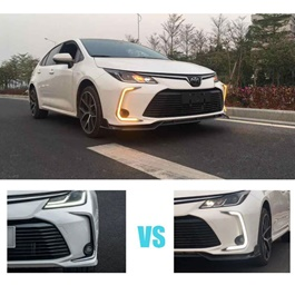 Toyota Corolla New Style DRL Cover - Model 2019-2020-SehgalMotors.Pk