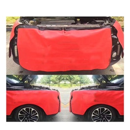 Protection Cover for Mechanics 3 Pcs | Automotive Mechanic Magnetic Front Fender Cover Protector Gripper Mechanic Work Mat Pad-SehgalMotors.Pk