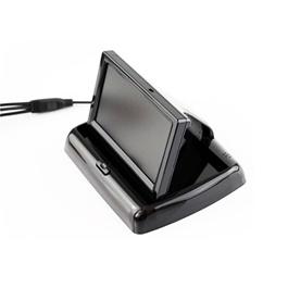 Universal Foldable Digital Car Rear View Monitor LCD 5 Inches-SehgalMotors.Pk