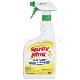 SPRAY NINE Multi Purpose Cleaner & Disinfectant Citrus Fresh - 22oz-SehgalMotors.Pk