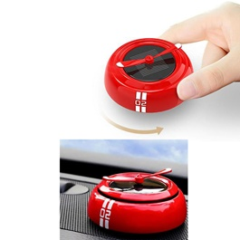 Solar Energy Car Perfume Fan Dashboard - Multi | Car Perfume | Fragrance | Air Freshener | Best Car Perfume | Natural Scent | Soft Smell Perfume-SehgalMotors.Pk