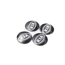 KIA Wheel Cap Logo - 4 Pc  | Wheel Center Cap | Wheel Logo | Wheel Center Hub Caps | Wheel Dust Proof Covers Badge logo-SehgalMotors.Pk