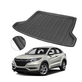 Honda Vezel Foam Trunk Mat - Model   2013 - 2020 | Trunk Boot Liner | Cargo Mat Floor Tray | Trunk Protection Mat | Trunk Tray Cover Pad -SehgalMotors.Pk