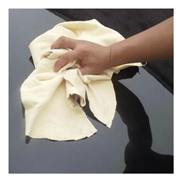 Chamois Cleaner Cloth | Super Absorbent Microfiber Synthetic Chamois Clean Towel-SehgalMotors.Pk
