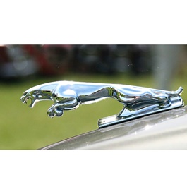 Jaguar Hood Logo   Emblem   Decal   Monogram -SehgalMotors.Pk