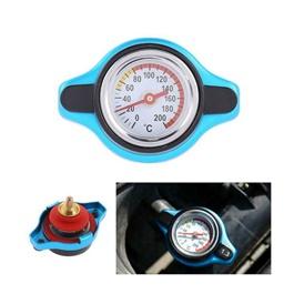 Car Radiator Cap with Temperature Gauge Analogue Meter-SehgalMotors.Pk