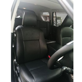 Toyota Prado Leather Type Rexine Seat Covers Black | Seat Covers | Universal Seat Covers | Leather Type Seat Covers-SehgalMotors.Pk