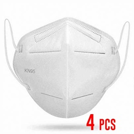 KN 95 Face Mask Protection against Coronavirus COVID 19 Virus Precaution Reusable Respiratory KN-95 KN95 Masks | Pack of 4-SehgalMotors.Pk