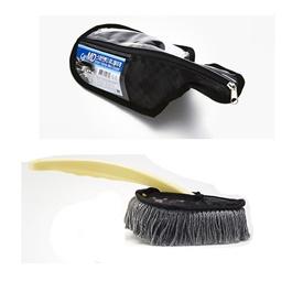 Jaesung Premium Nano Wax Sweep Black Korean | Car Cleaner Brush | Dust Cleaner | Duster | Car Care Gadget | Microfiber Wet & Dry Use Duster-SehgalMotors.Pk